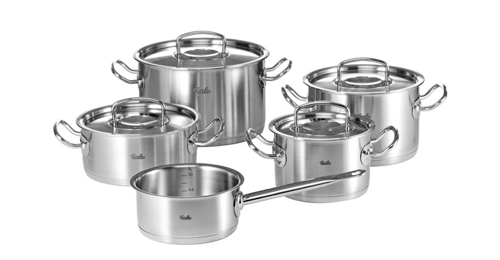 Bộ nồi Fissler 5 chiếc pro collection 1845